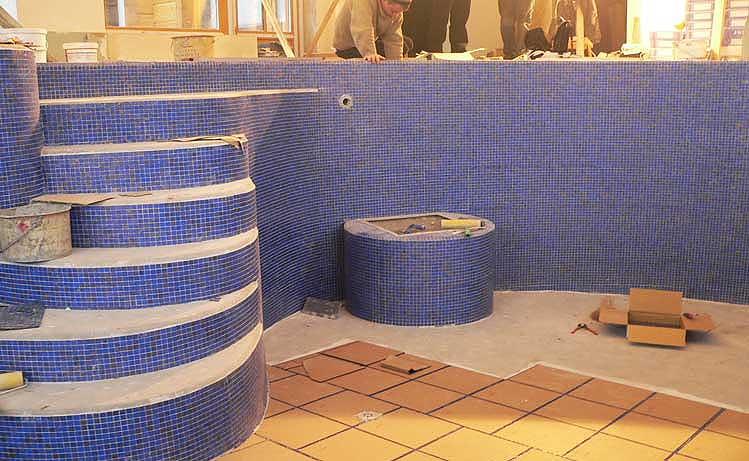Реконструкция бассейна