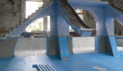 Реконструкция и ремонт бассейнов